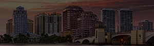 background of a large city